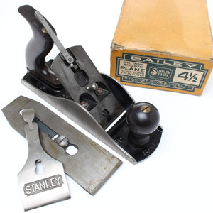 Stanley Sweetheart Smoothing Plane 4 ½ - Rosewood - Mint