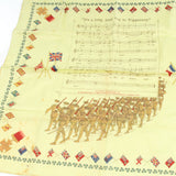 WW1 Silk It's a long Way to Tipperary Handkerchief - OldTools.co.uk