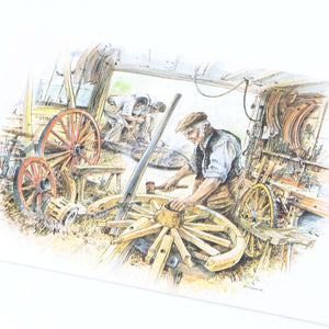 Set of Classic Crafts Postcards - OldTools.co.uk