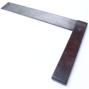 "Old Rosewood Try Square – 14"" - OldTools.co.uk"