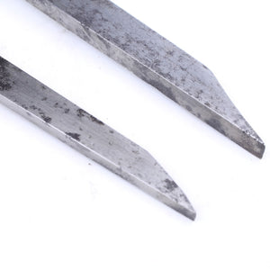 2 Mortice Chisels - OldTools.co.uk
