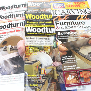 8 Woodworking Magazines