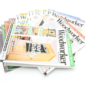 16 The Woodworker Magazines