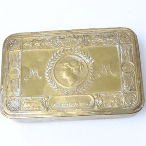 Queen Marys WW1 Gift Box / Tin