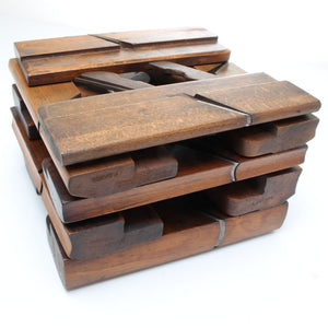 9x John Moseley & Son - Hollow and Round Planes (Beech)