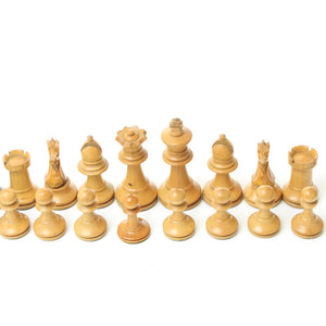 Boxwood and Ebonised Staunton Chess Set - ENGLAND, WALES, SCOTLAND ONLY
