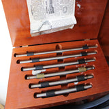 Brown and Sharp Micrometer Set in Box - OldTools.co.uk