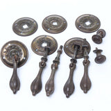 Old Drop Handles and Knobs - OldTools.co.uk