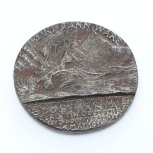 RMS Lusitania Medallion - OldTools.co.uk