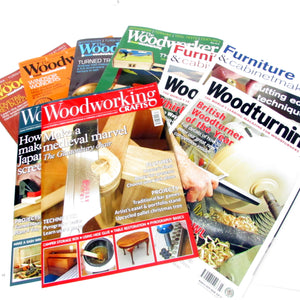 10x Woodwork / Wood Crafts Magazines (2018/2019) - OldTools.co.uk