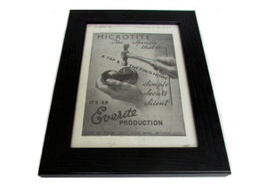 1950's Framed Microtite Picture - Size: A5 - OldTools.co.uk