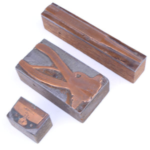 Disston, Spear & Jackson and Starrett Printing Blocks - OldTools.co.uk
