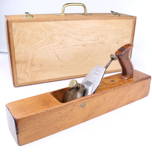 Norris A71 Wooden Jointer Plane - OldTools.co.uk