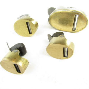 4 Brass Violin Makers Planes - UK ONLY - OldTools.co.uk