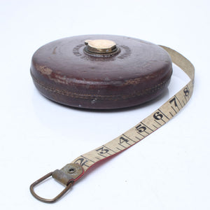 Chesterman 100ft Measuring Tape - OldTools.co.uk