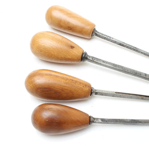 4x Small Carving Tool Set