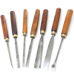 7x Addis Carving Tool Set