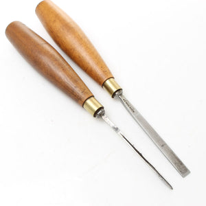 2x Sloyd Wood Carving Tools - Chisel and Veining