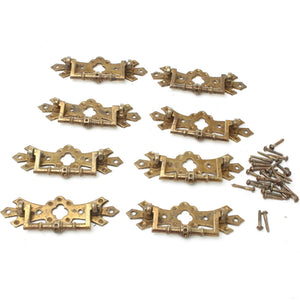 8x Old Chest Drawer Handles