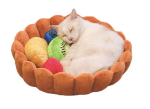 Fruit Tart Cat Bed - Catsup Cat Co