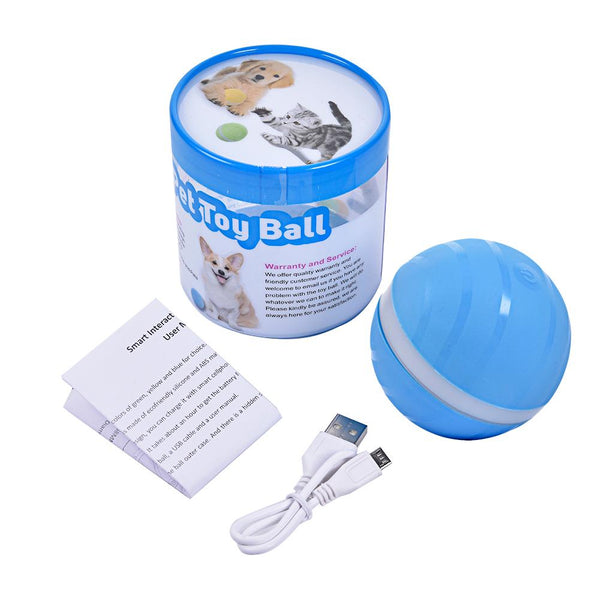 Electronic LED Roller Ball Cat Toy - Catsup Cat Co