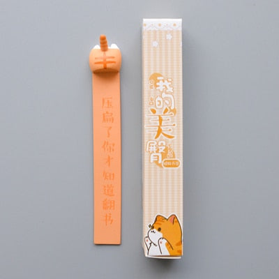Cat Butt Bookmark - Catsup Cat Co