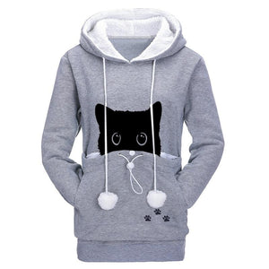 Cat Pouch Hoodie - Catsup Cat Co