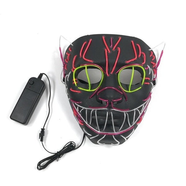 LED Glowing Cat Mask - Catsup Cat Co