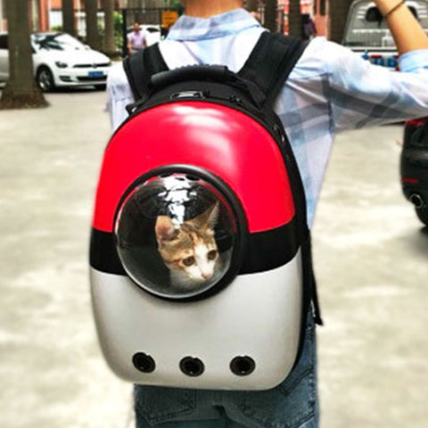 Space Capsule Cat Carrier Backpack - Catsup Cat Co