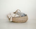 SLOUCHED NATURAL HANDLE BASKET | LARGE