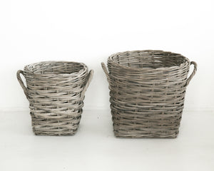 Load image into Gallery viewer, GROVE WOOD BASKET