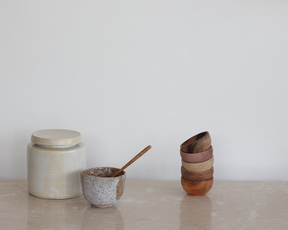 WOODEN BOWLS | SET OF 5