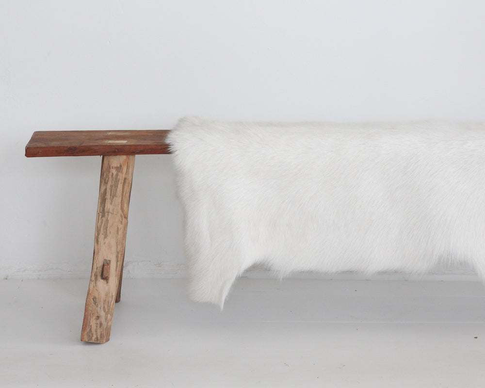 GOAT HIDE | WHITE