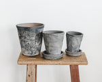 HERB POTS | BLACKENED