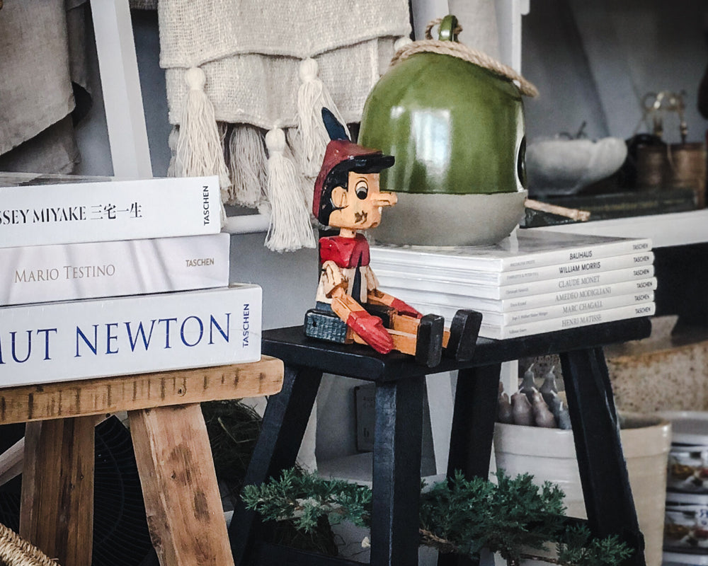 Load image into Gallery viewer, WOODEN PINNOCHIO