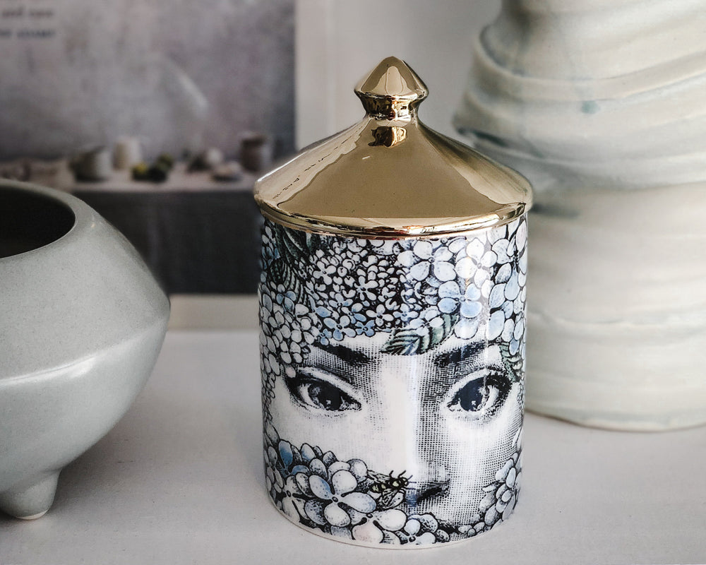 Load image into Gallery viewer, FORNASETTI REPLICA VESSEL | FLORAL