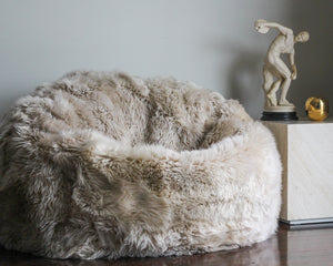 Load image into Gallery viewer, LUXE SHEEPSKIN BEANBAG
