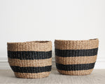 RONA WIDE STRIPE BASKET