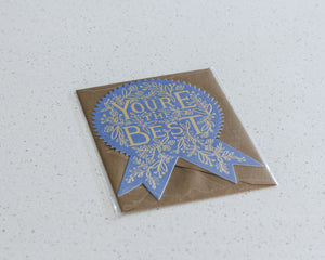 RIFLE PAPER CO. CARD | YOU'RE THE BEST