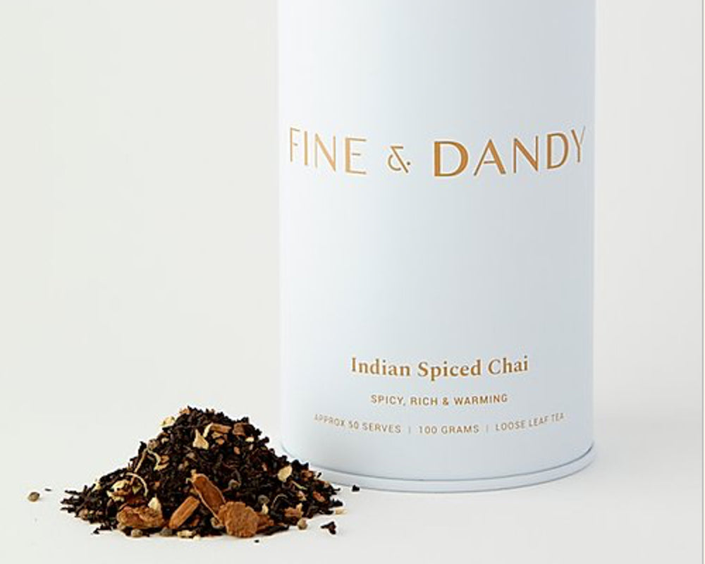 Load image into Gallery viewer, FINE & DANDY | INDIAN SPICED CHAI | TIN