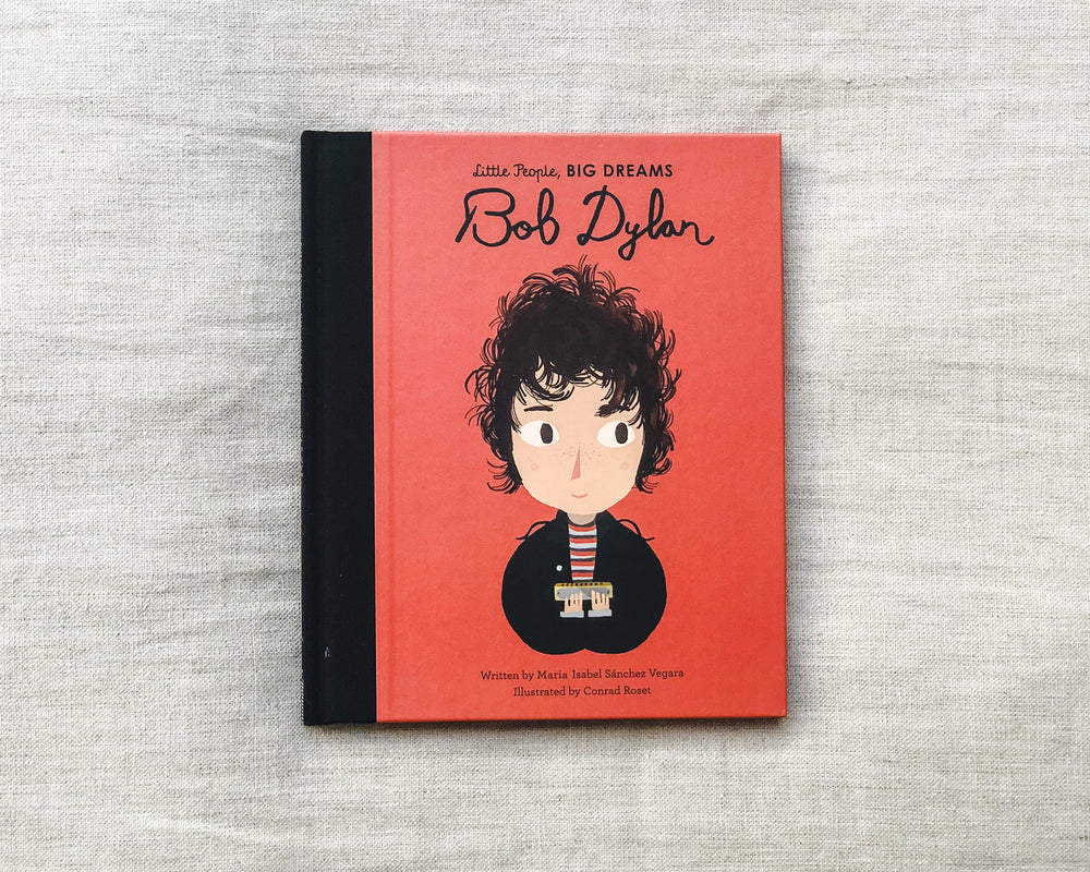 Load image into Gallery viewer, LITTLE PEOPLE BIG DREAMS | BOB DYLAN