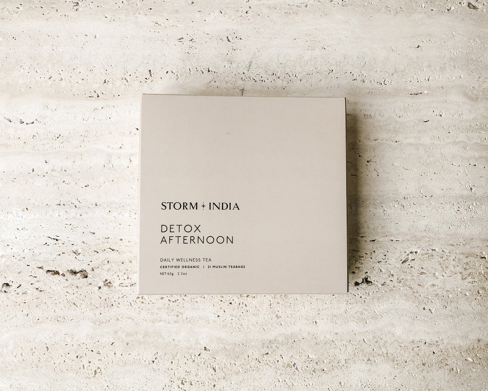 STORM + INDIA | TEABAGS | AFTERNOON DETOX