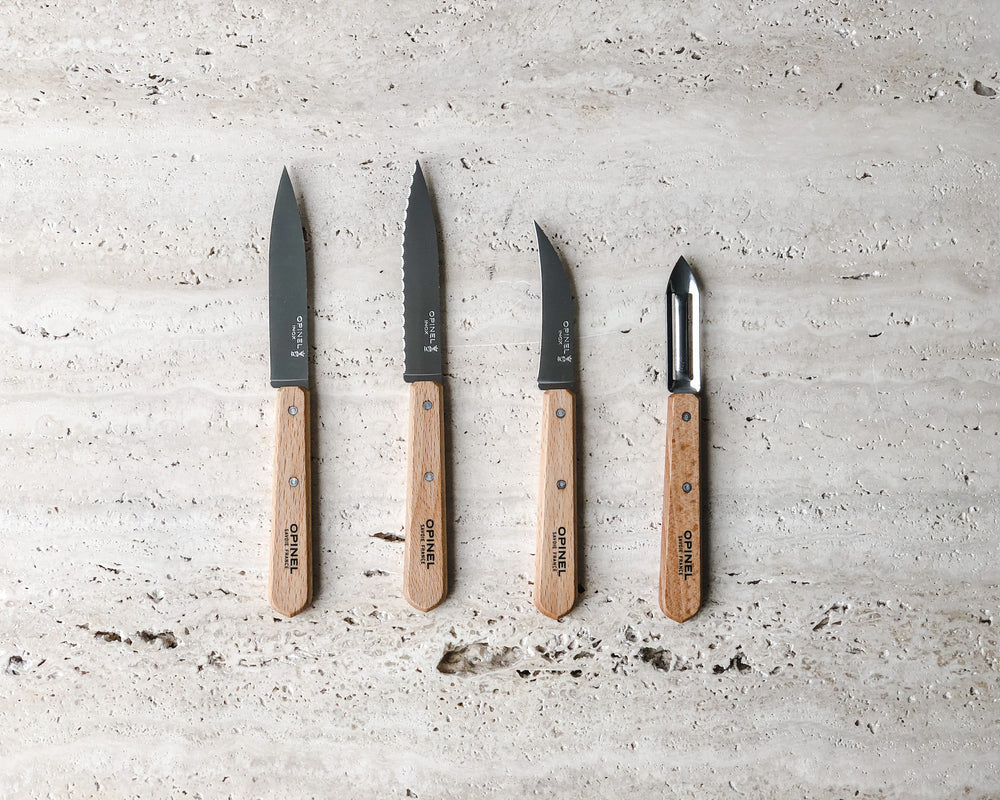 ESSENTIAL KNIVES NATURAL | SET OF 4