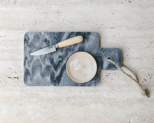 Load image into Gallery viewer, GREY MARBLE CHOPPING BOARD