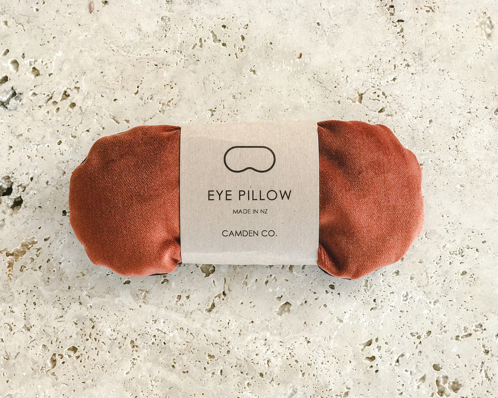 EYE PILLOW | ACORN VELVET