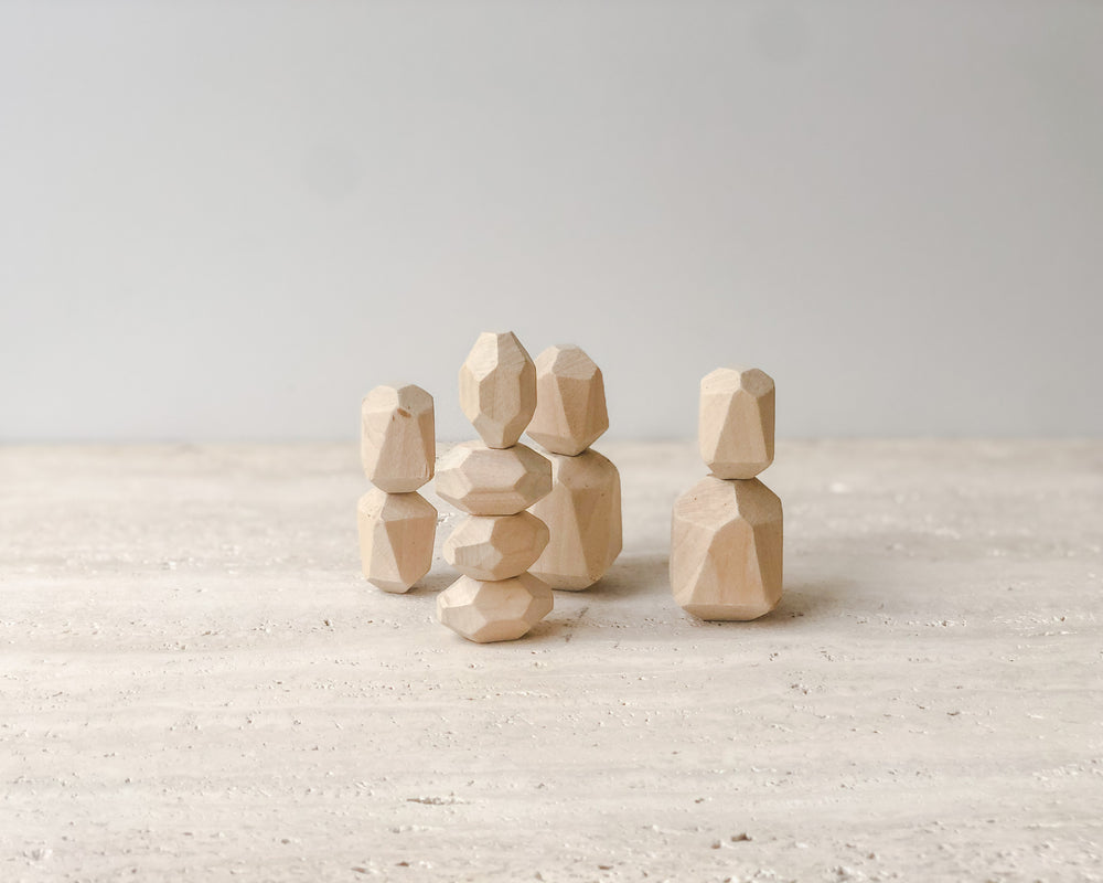 CAVE CHILD WOODEN STONES