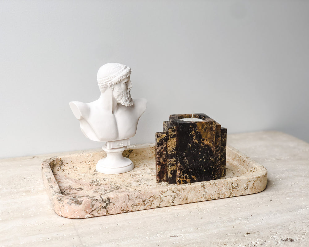MARBLE T-LIGHT HOLDER