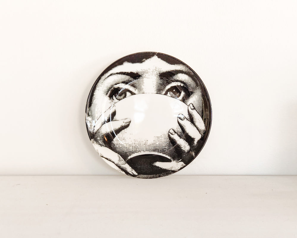 Load image into Gallery viewer, FORNASETTI REPLICA PLATE | TEA CUP