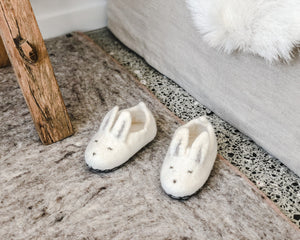 MUSKHANE BUNNY SLIPPERS | NATURAL