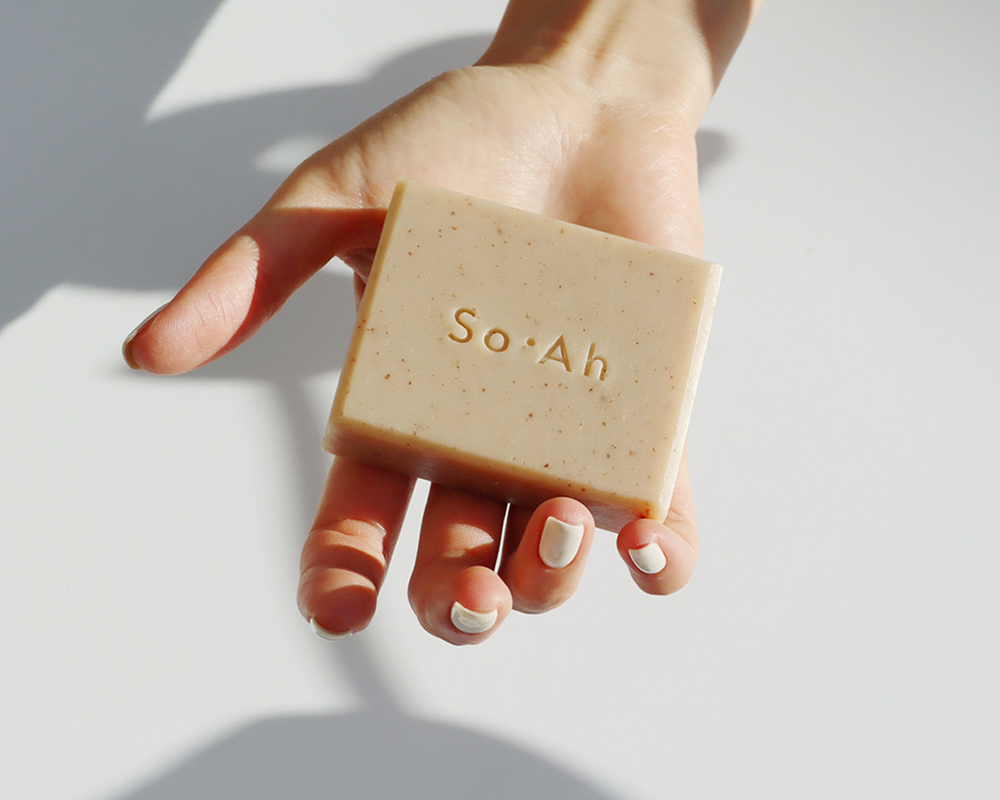 BLACK BEAN SOYMILK SOAP | SO.AH